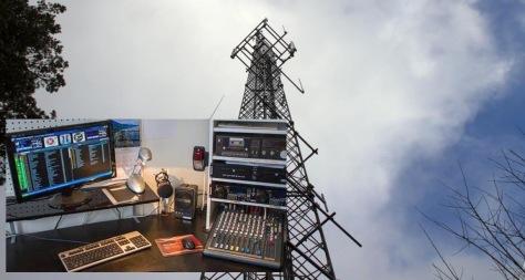 Masten på Liafjellet har sendt ut signalene til RadiOs i 25 år. FOTO: Jan Petter Svendal