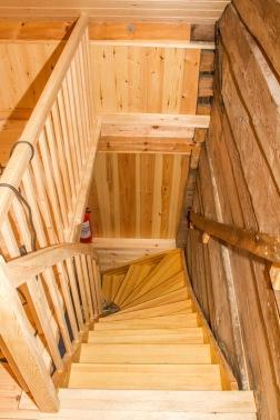 Ny flott trapp.