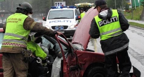 Bilulykke Illustrasjonsbilde MA HEHansen
