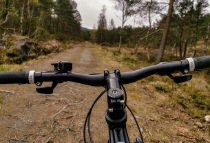 Greit å sykle med offroad-sykkel. FOTO: Jan Petter Svendal